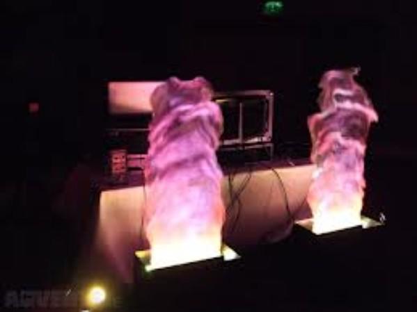 Sound lab flames