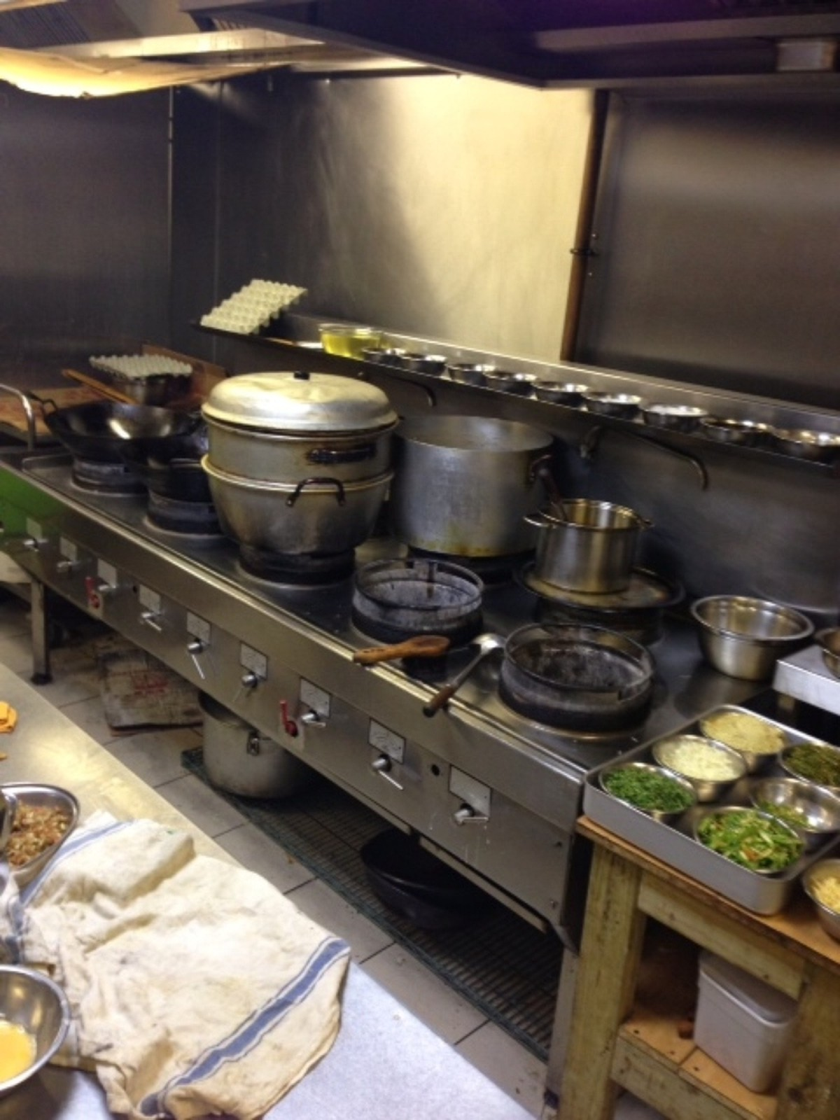 Used Chinese Restaurant Equipment For Sale