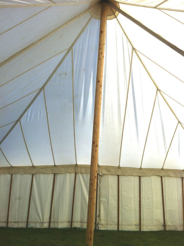 White canvas marquees for sale