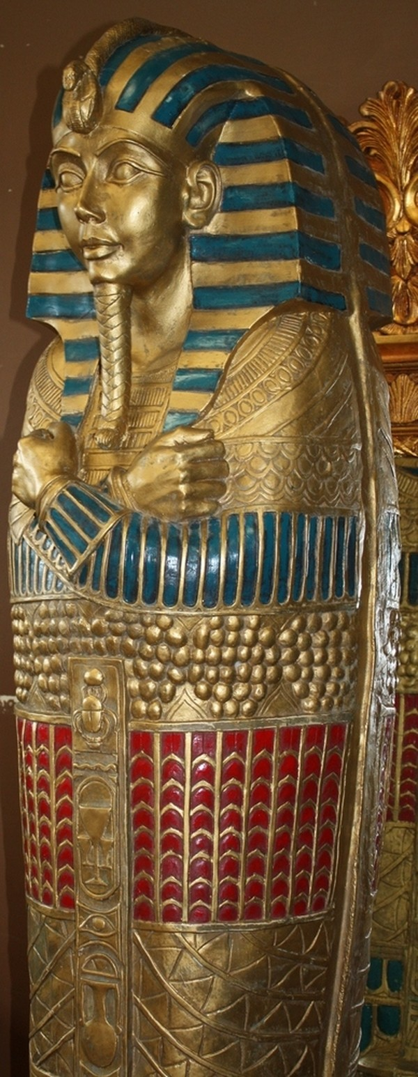 large egyptian mummy statue for sale