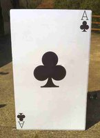 Playing card or Casino themed prop