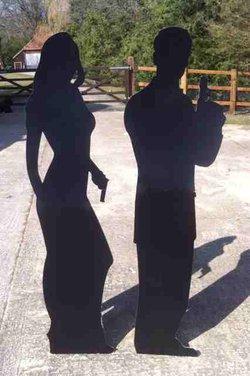 Bond 007 sihouettes
