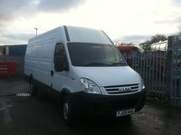White Iveco van for sale
